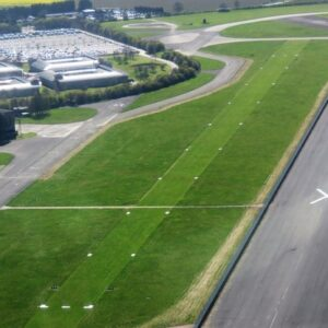 RAF Wyton's new grass runway turns the clock back