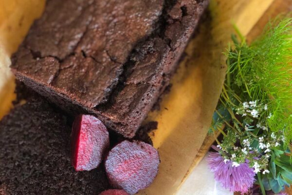Dark Chocolate & Beetroot Cake