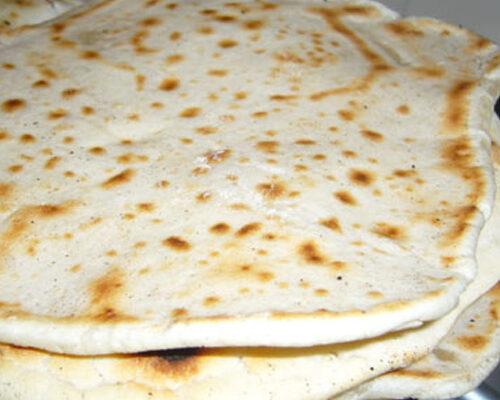 Indian Plain Naan Bread