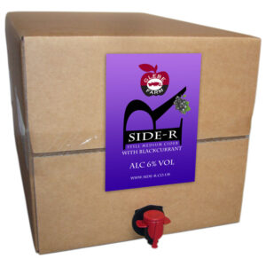Side-R Still Medium Cider with Blackcurrant 20L