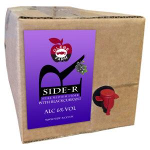 Side-R Still Medium Cider with Blackcurrant 8L