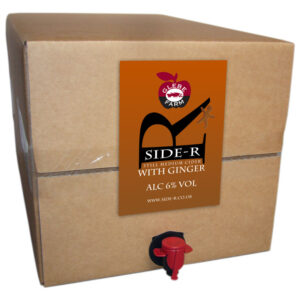 Side-R Still Medium Cider with Ginger 20L