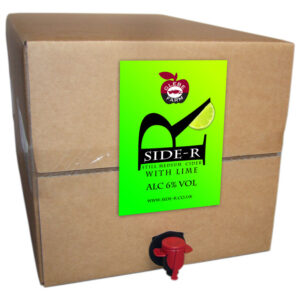 Side-R Still Medium Cider with Lime 20L