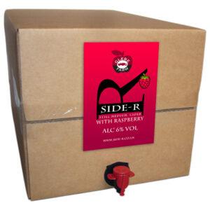 Side-R Still Medium Cider with Raspberry 20L
