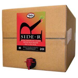 Side-R Still Medium Cider with Rhubarb 20L