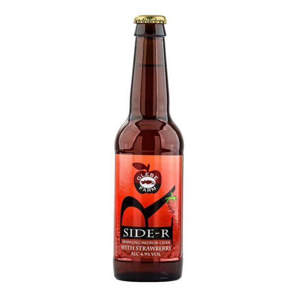 Side-R Sparkling Medium Cider with Strawberry 330ml