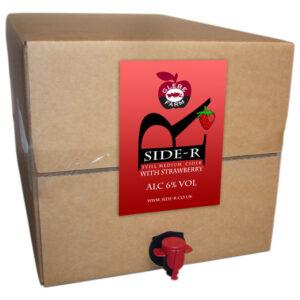 Side-R Still Medium Cider with Strawberry 20L