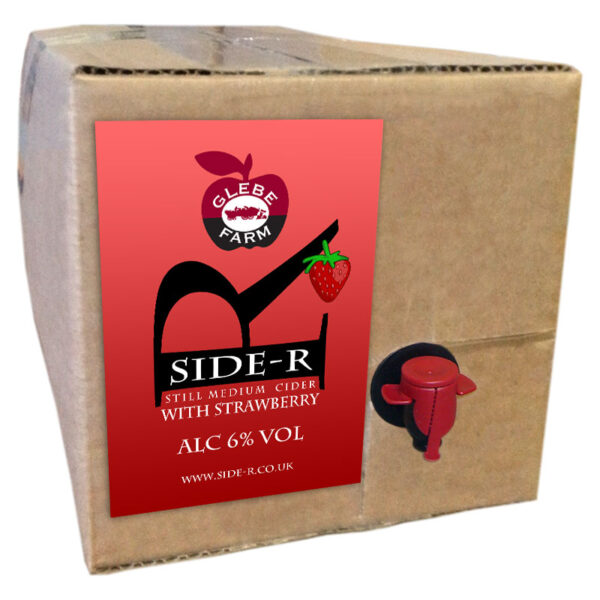 Side-R Still Medium Cider with Strawberry 8L