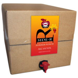 Side-R Still Medium Cider with Summer Punch 20L